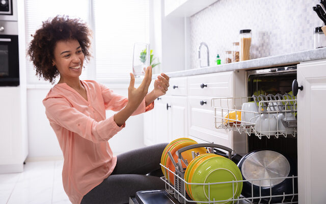 Want spotless dishes?  Call Alamo Water Softeners at 210-274-6122.